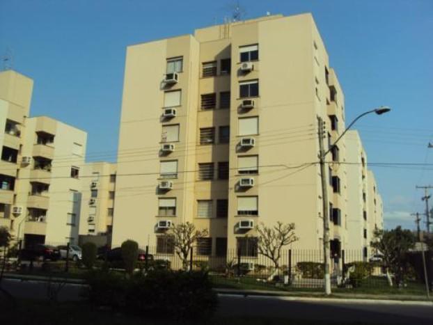 Agradável apartamento térreo ensolarado, com 02 dormitórios, no Condomínio Jardins do Norte, bairro Sarandi. R$ 225.000,00.